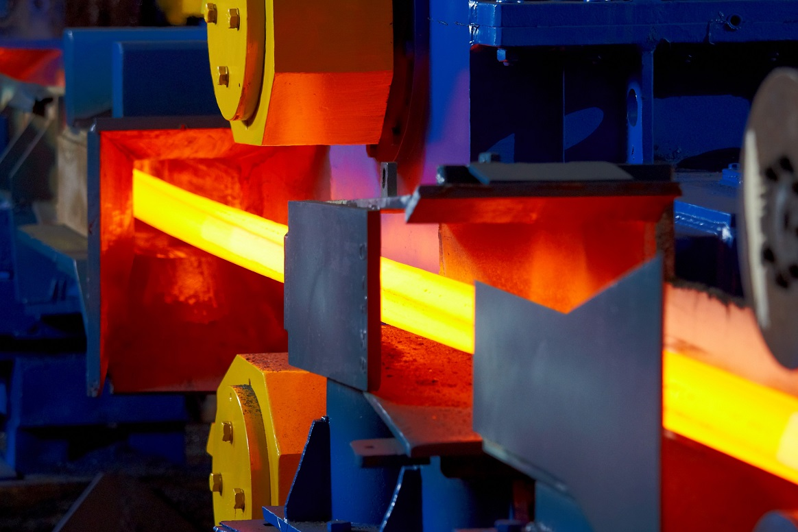 First Billet Rolling at Mughal Steel, Pakistan
