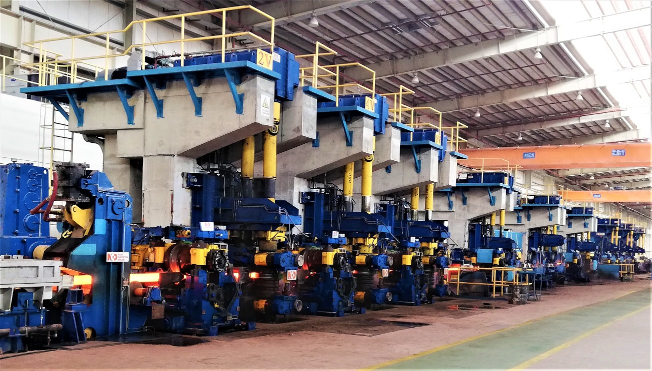 New video of the rolling mill of Qsteel - QATAR